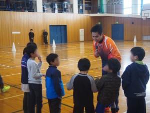 永井義文選手 フットサルスクール
